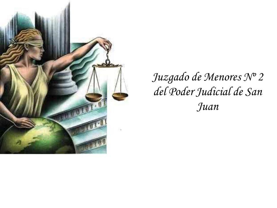 Juzgado de Menores Nº 2 del Poder Judicial de San Juan