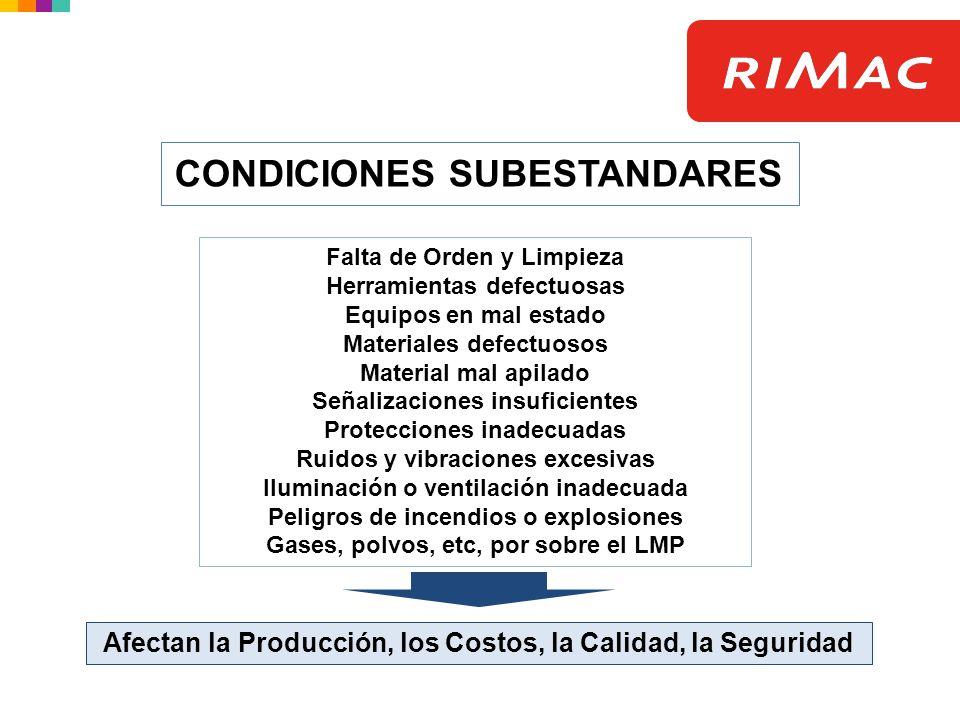 Lineamientos para la evaluación de las condiciones físicas Pisos / Pasadizos Pisos Pisos limpios y en orden; libres de material de desecho o innecesario y de aceite o grasas.