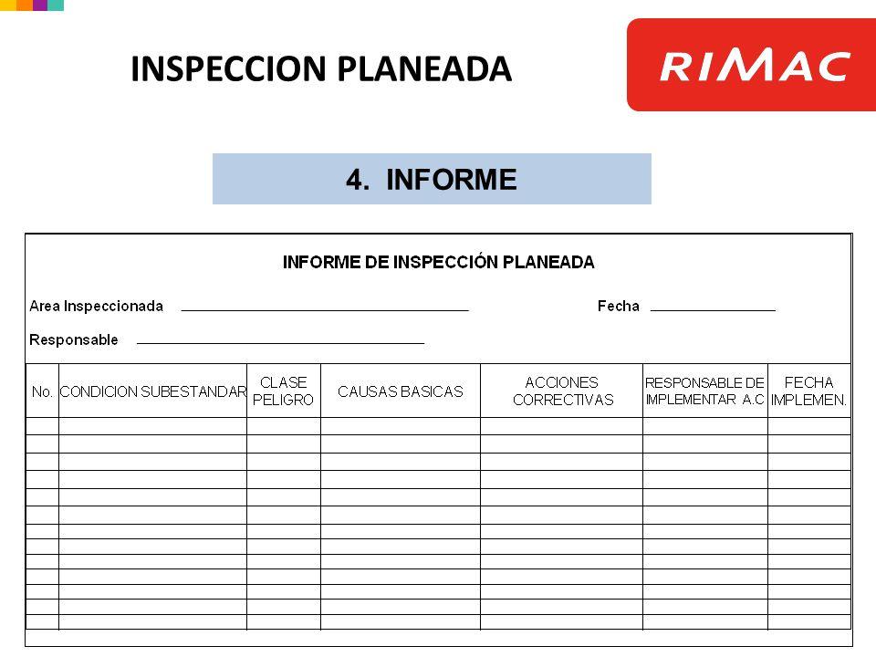 4. INFORME INSPECCION PLANEADA