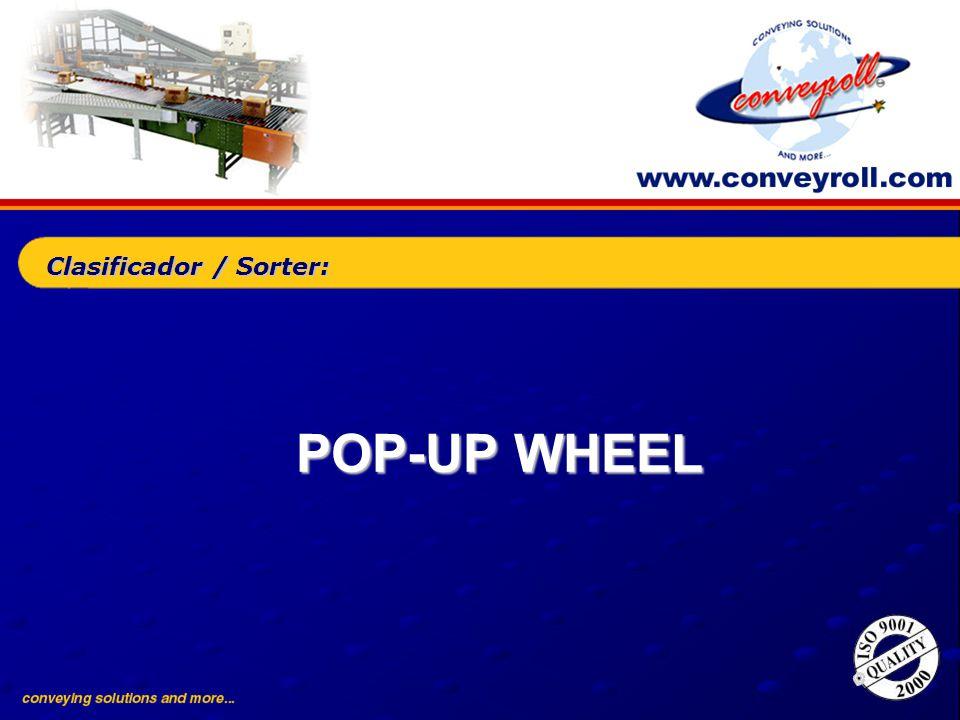 POP-UP WHEEL Clasificador / Sorter: