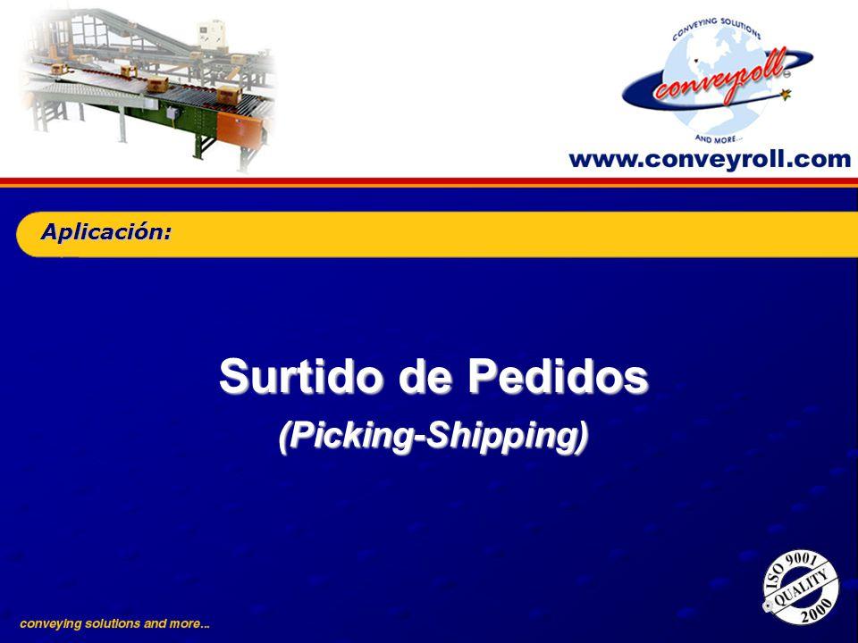 Surtido de Pedidos (Picking-Shipping) Aplicación: