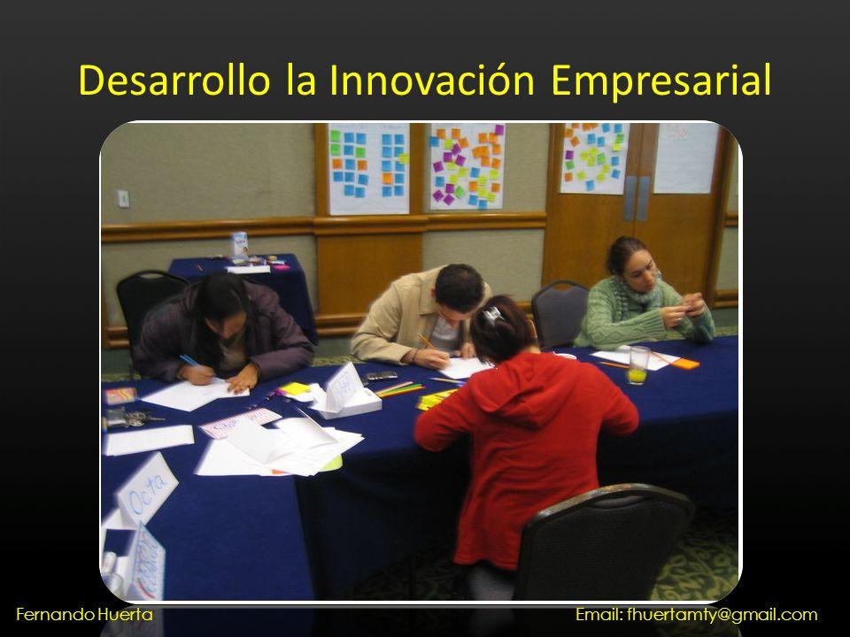 Desarrollo la Innovación Empresarial Email: fhuertamty@gmail.comFernando Huerta