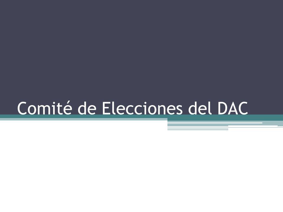 Comité de Elecciones del DAC