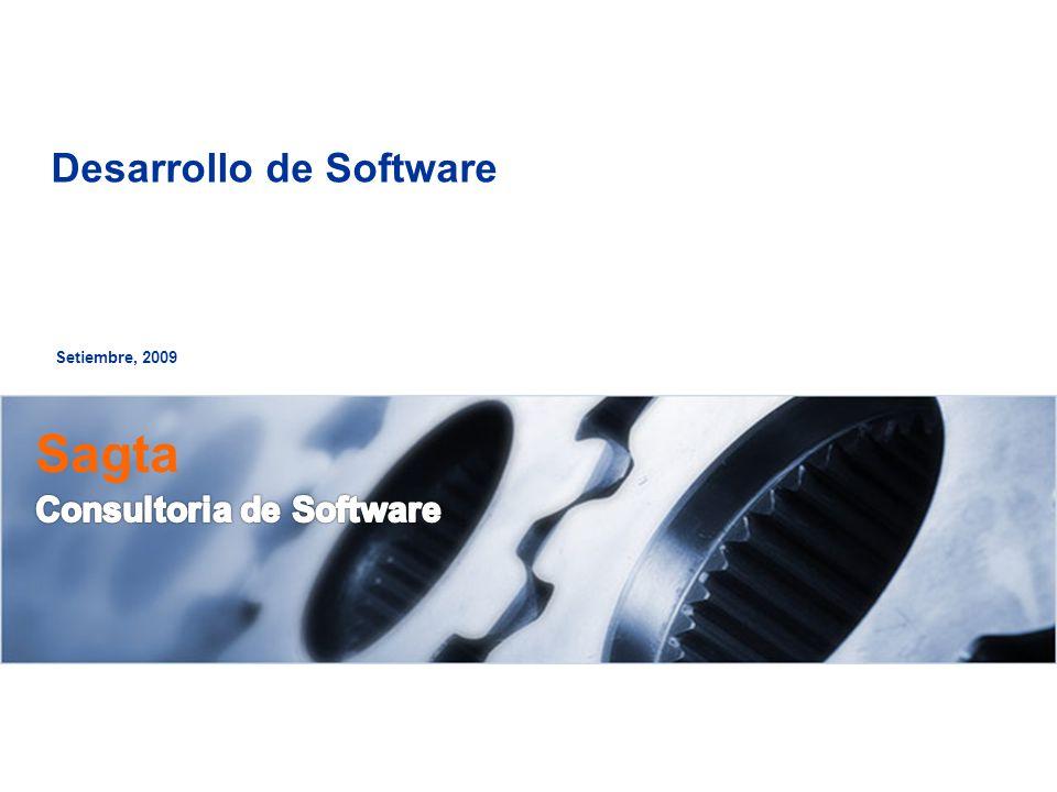 Setiembre, 2009 Desarrollo de Software