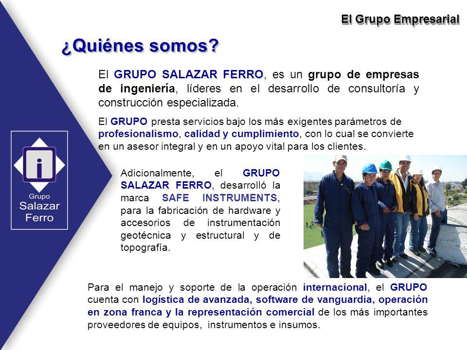 El GRUPO SALAZAR FERRO, es un grupo de empresas de ingeniería, líderes en el desarrollo de consultoría y construcción especializada. ¿Quiénes somos? P