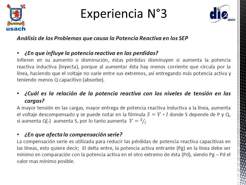 Experiencia N°3