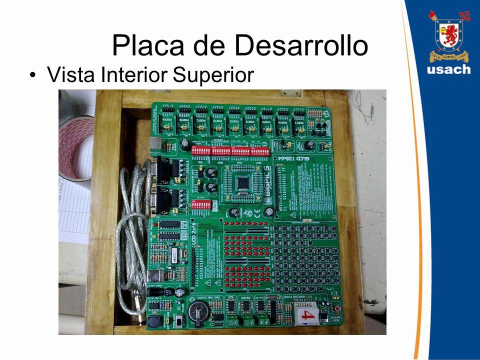 Placa de Desarrollo Vista Interior Superior
