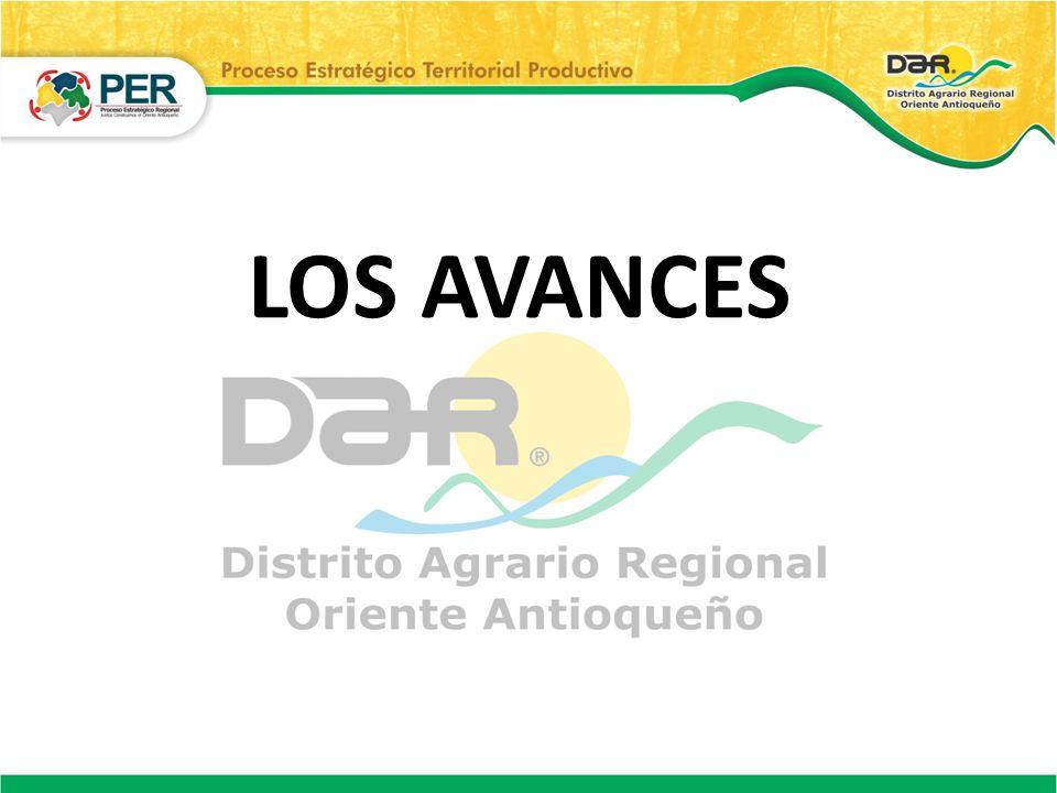 LOS AVANCES