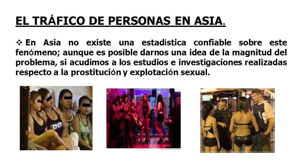 EL TR Á FICO DE PERSONAS EN ASIA.