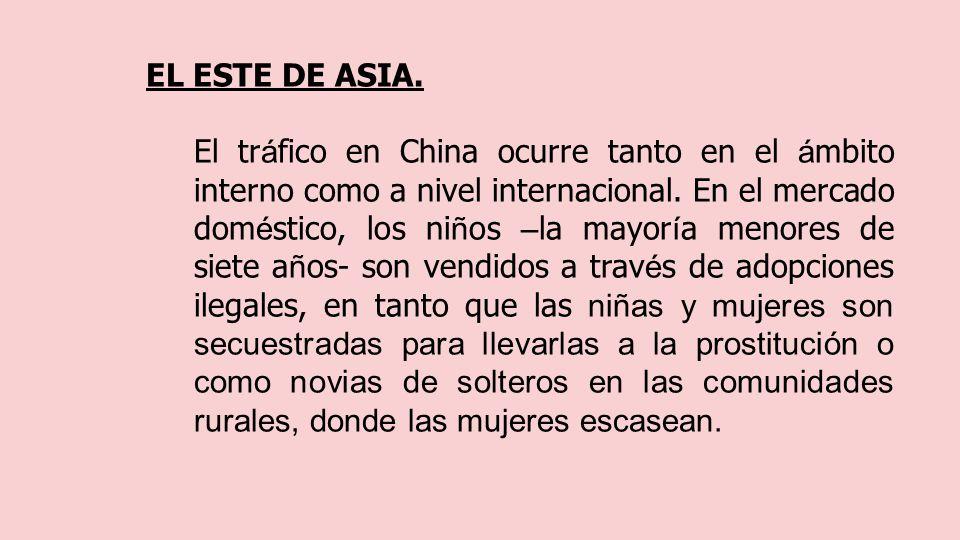 EL ESTE DE ASIA.
