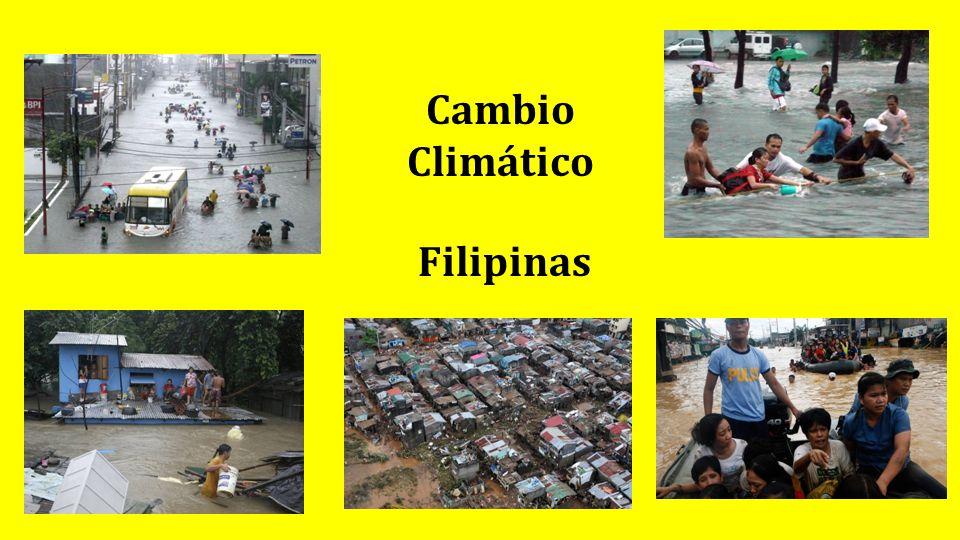Cambio Climático Filipinas