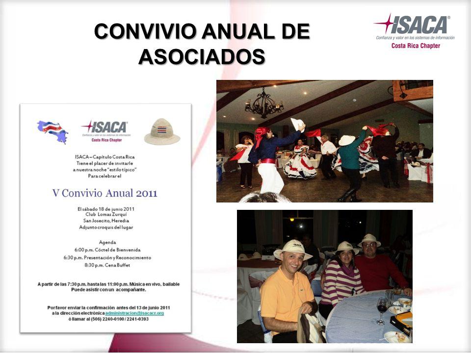 CONVIVIO ANUAL DE ASOCIADOS