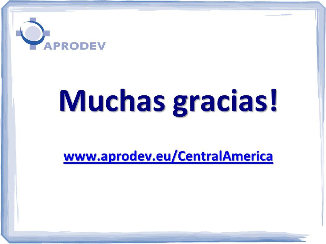 Muchas gracias! www.aprodev.eu/CentralAmerica