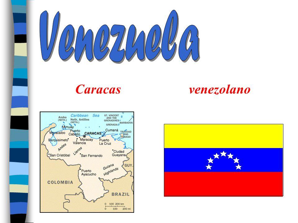 La América del Sur Venezuela Colombia Ecuador Perú Bolivia Paraguay Chile Uruguay La Argentina