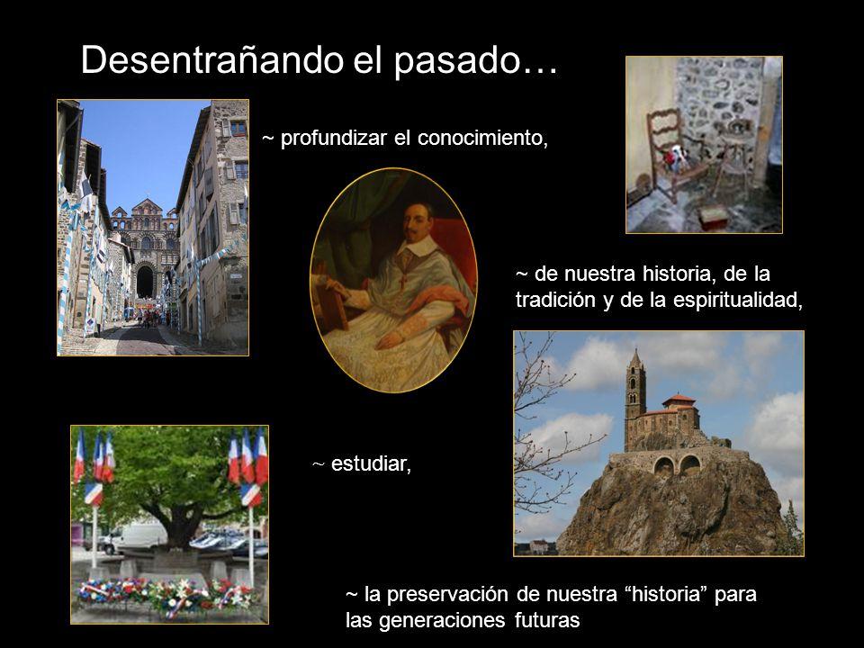 Desentrañando el pasado… ~ estudiar, ~ profundizar el conocimiento, ~ de nuestra historia, de la tradición y de la espiritualidad, ~ la preservación de nuestra historia para las generaciones futuras