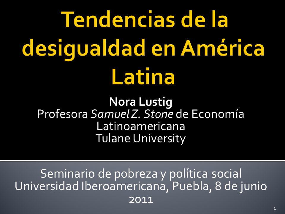 Nora Lustig Profesora Samuel Z.
