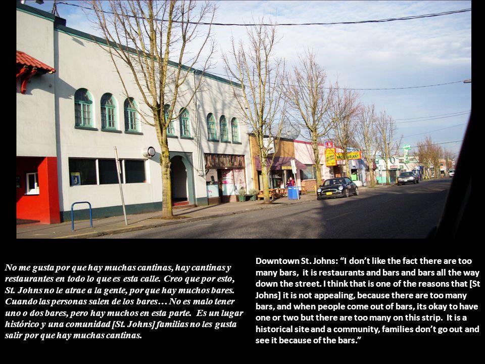 No me gusta por que hay muchas cantinas, hay cantinas y restaurantes en todo lo que es esta calle.