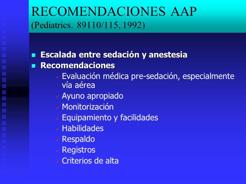 RECOMENDACIONES AAP (Pediatrics.