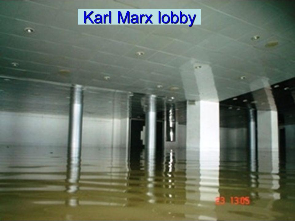 Karl Marx lobby