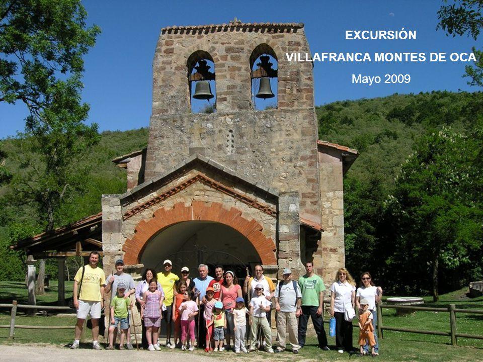 EXCURSIÓN VILLAFRANCA MONTES DE OCA Mayo 2009