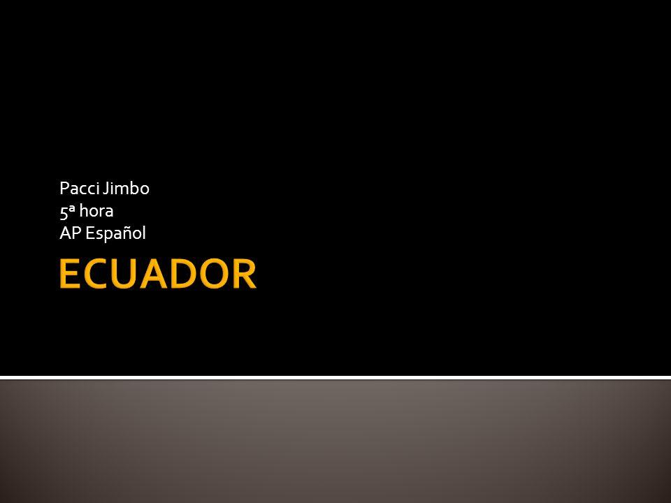 Empecemos en Quito.
