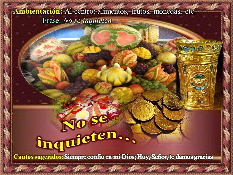 Domingo 8° Tiempo Ordinario A.