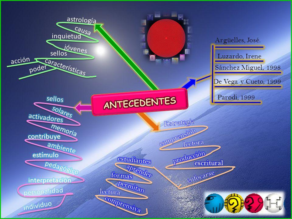 astrología causa inquietud jóvenes sellos características acción poder Argüelles, José.