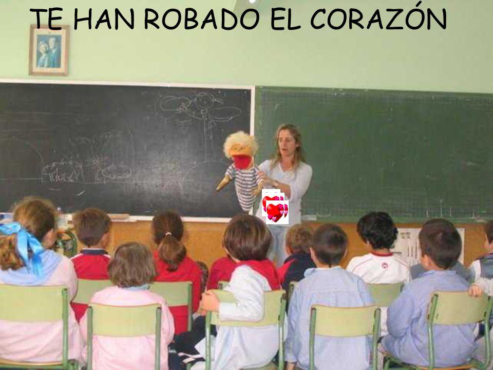 TE HAN ROBADO EL CORAZÓN