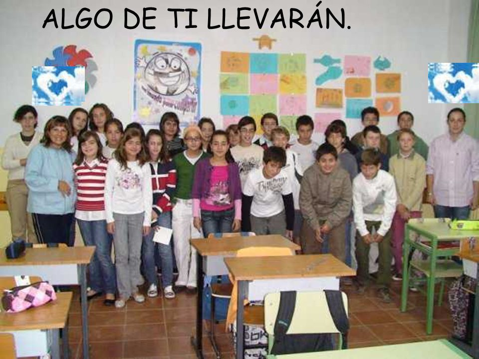 ALGO DE TI LLEVARÁN.