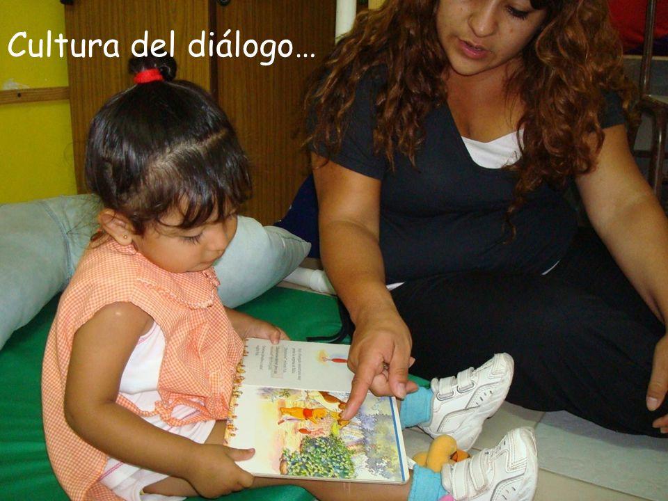 Cultura del diálogo…