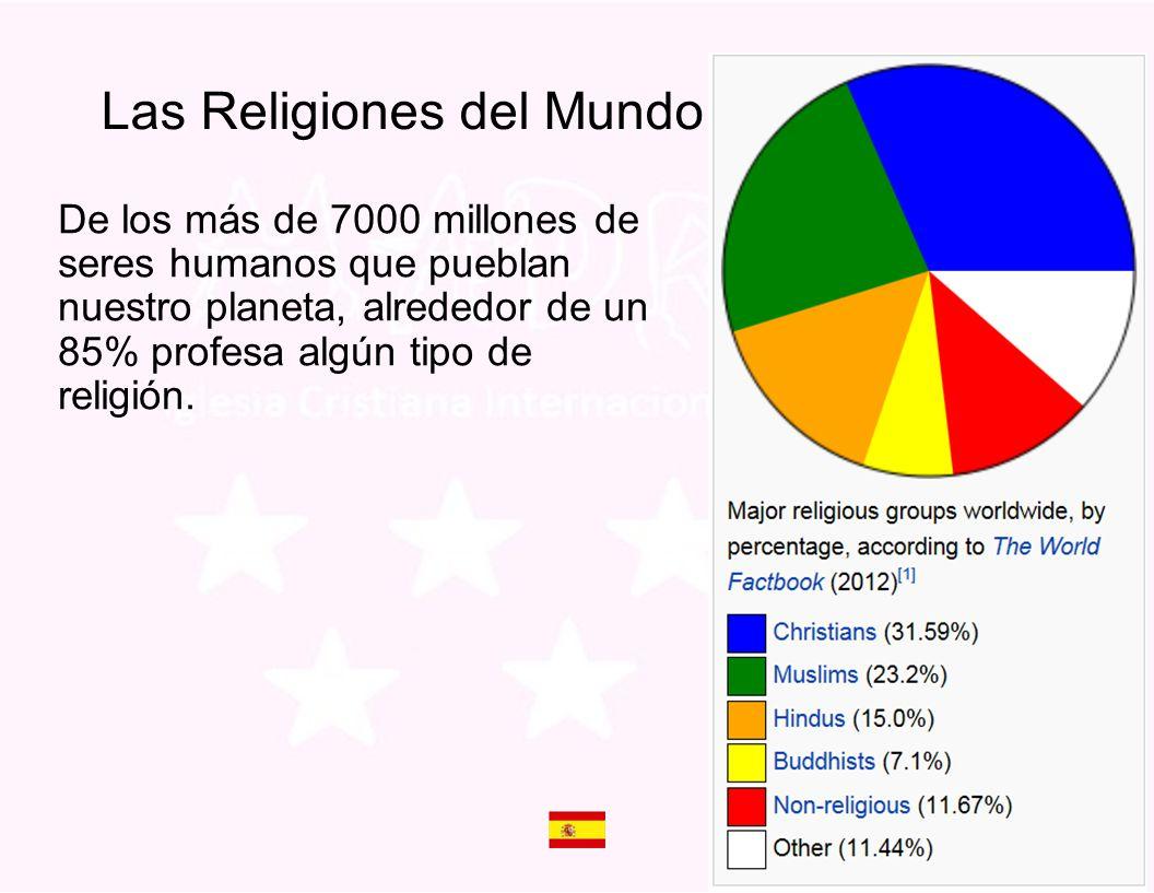 De los más de 7000 millones de seres humanos que pueblan nuestro planeta, alrededor de un 85% profesa algún tipo de religión. Las Religiones del Mundo