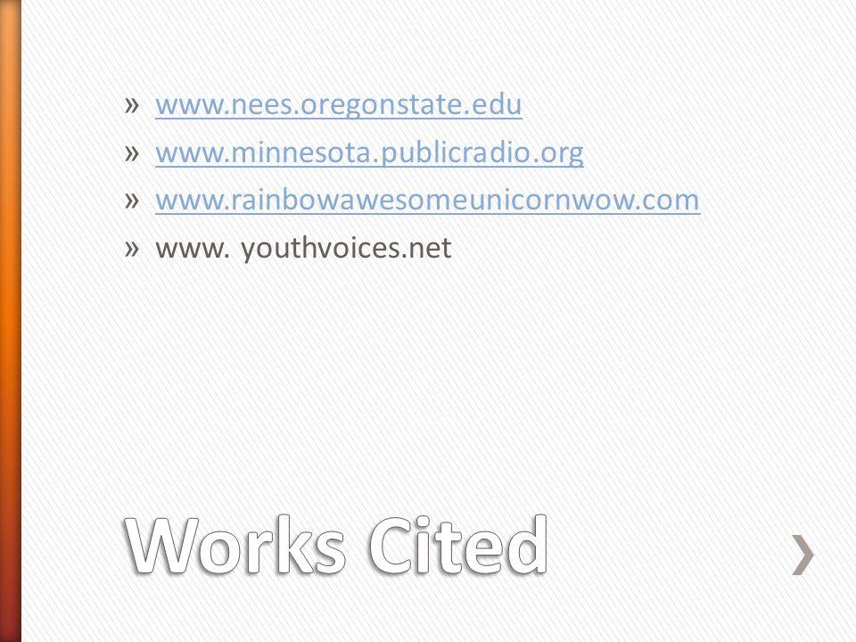 » www.nees.oregonstate.edu www.nees.oregonstate.edu » www.minnesota.publicradio.org www.minnesota.publicradio.org » www.rainbowawesomeunicornwow.com w
