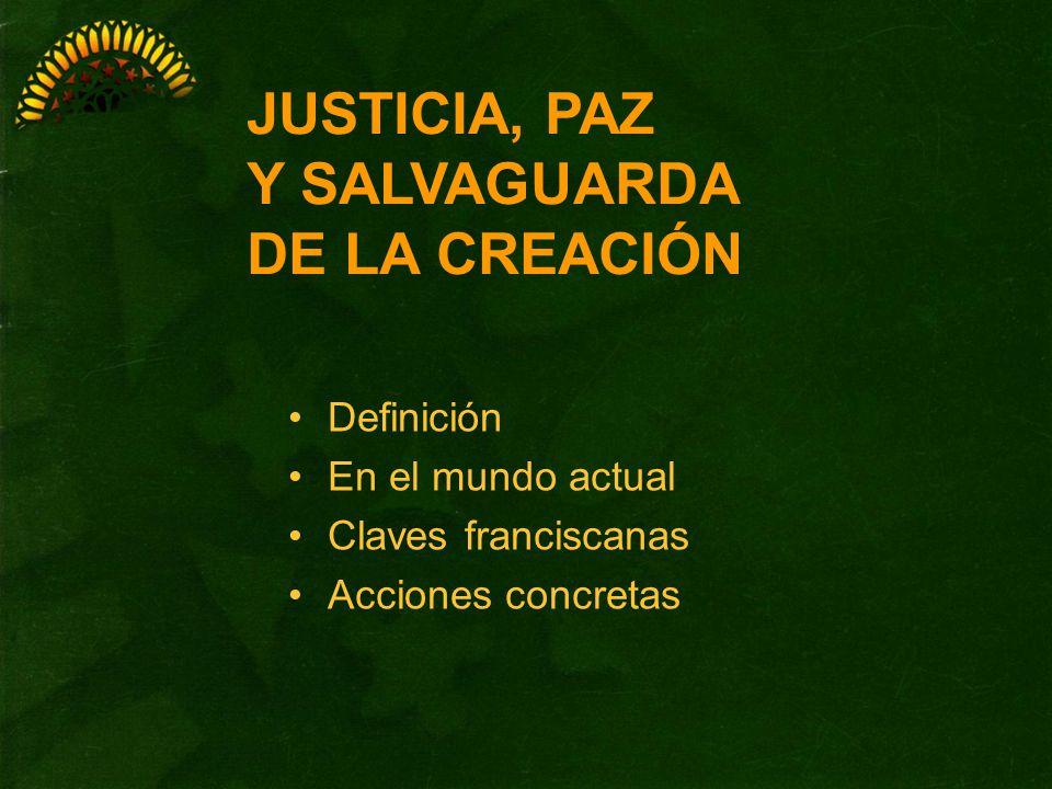 DEFINICIÓN Analizar crítica y responsablemente la realidad de este mundo Siendo partícipes de los derechos del hombre Implicándonos en el llanto de los pobres Justicia