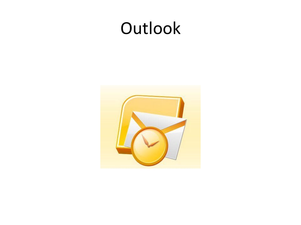 Outlook como herramienta de trabajo