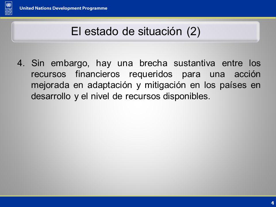 4 El estado de situación (2) 4.