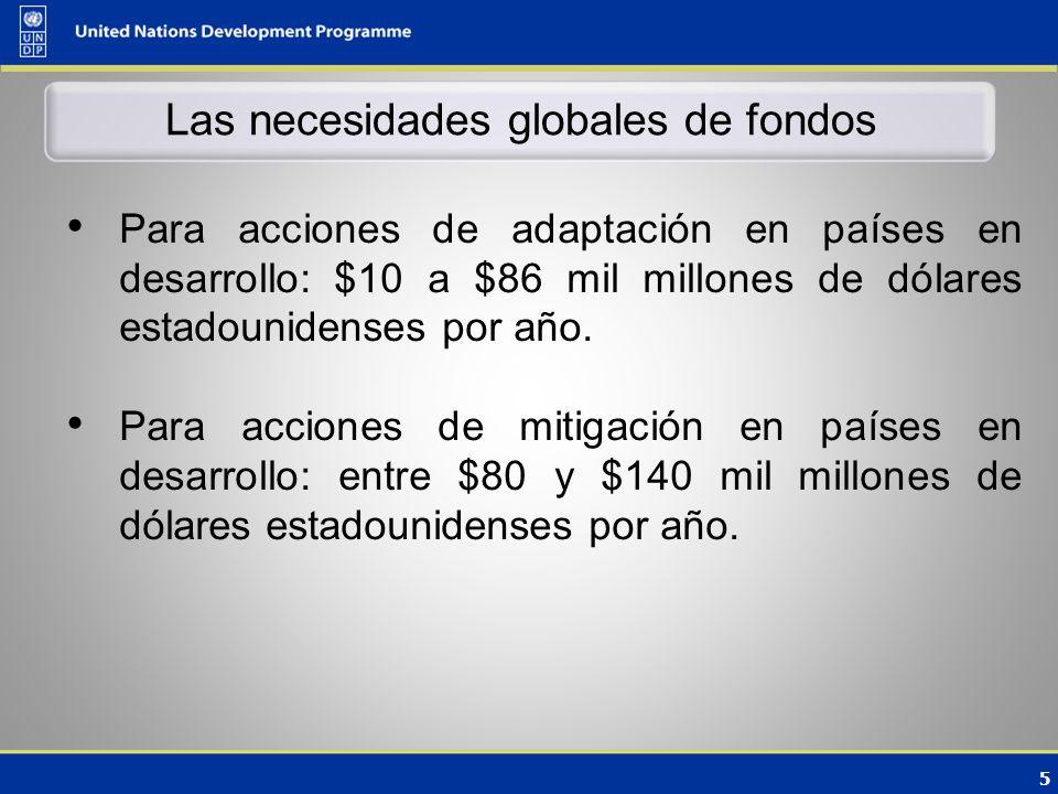 16 Áreas de convergencia en la negociación El Fondo Verde debe existir bajo la COP y debe haber una representación igual y equitativa de las Partes involucradas en su gobierno Se mantendrá el financiamiento bilateral El FMAM seguirá siendo una entidad operativa de la CMNUCC
