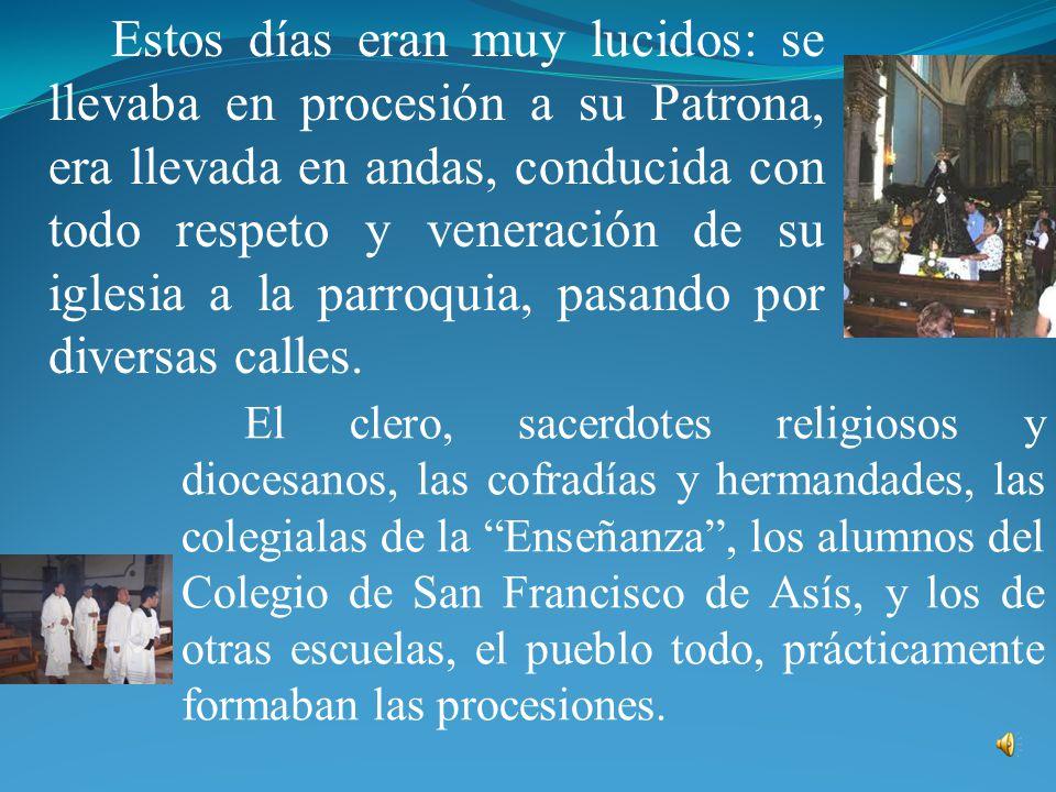 Me refiero, sobre todo, a las solemnísimas fiestas, celebradas en honor de la Linda Joya de Irapuato, los días 30 de abril desde 1813 y de 1922. En nu