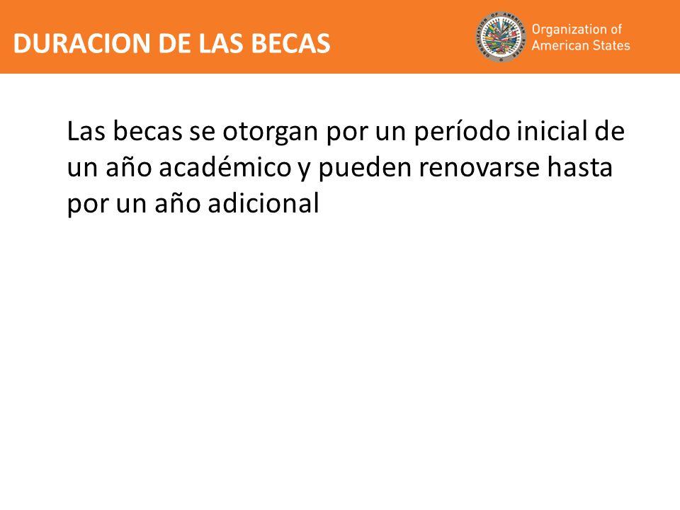 Acatar las leyes del pais donde curse los estudios y los reglamentos del centro de estudios Volver a residir en su pais patrocinador al termino de sus estudios por un periodo no menor a los dos anos Abstenerse de participar en actividades incompatibles con su condicion de becario de la OEA y observar las normas que estipulen los contratos que celebre el becario de la OEA con la SG/OEA y la ONE Entregar a la SG/OEA y ONE dentro de 3 meses de concluido el programa de estudios un informe final sobre el programa de estudios completado e informacion concreta sobre la forma en que los conocimientos adquiridos se aplicaran en el pais patrocinador Cooperar con la SG/OEA en evaluaciones de impacto de los programas de becas OBLIGACIONES DE LOS BECARIOS