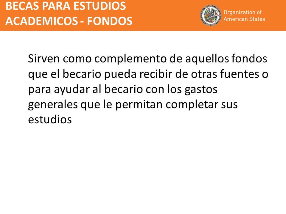 Impacto de las Becas OEA Líderes capacitados en variadas especializaciones y sectores económicos de sus paises Efecto multiplicador cuando los becarios vuelven con las credenciales necesarias para la enseñaza universitaria.
