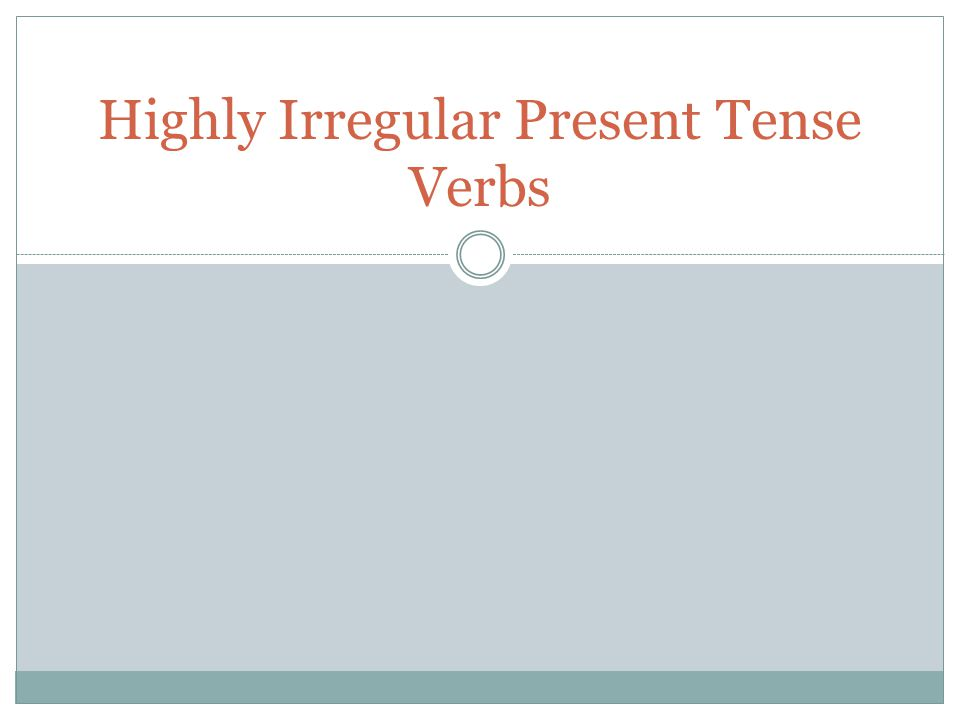 Present Progressive In English they end with ing For –ar verbs, drop the –ar and add -ando For –ir and –er verbs, drop the –ir or –er and add -iendo Two part conjugation Add the -ing ending Put the correct form of estar in front