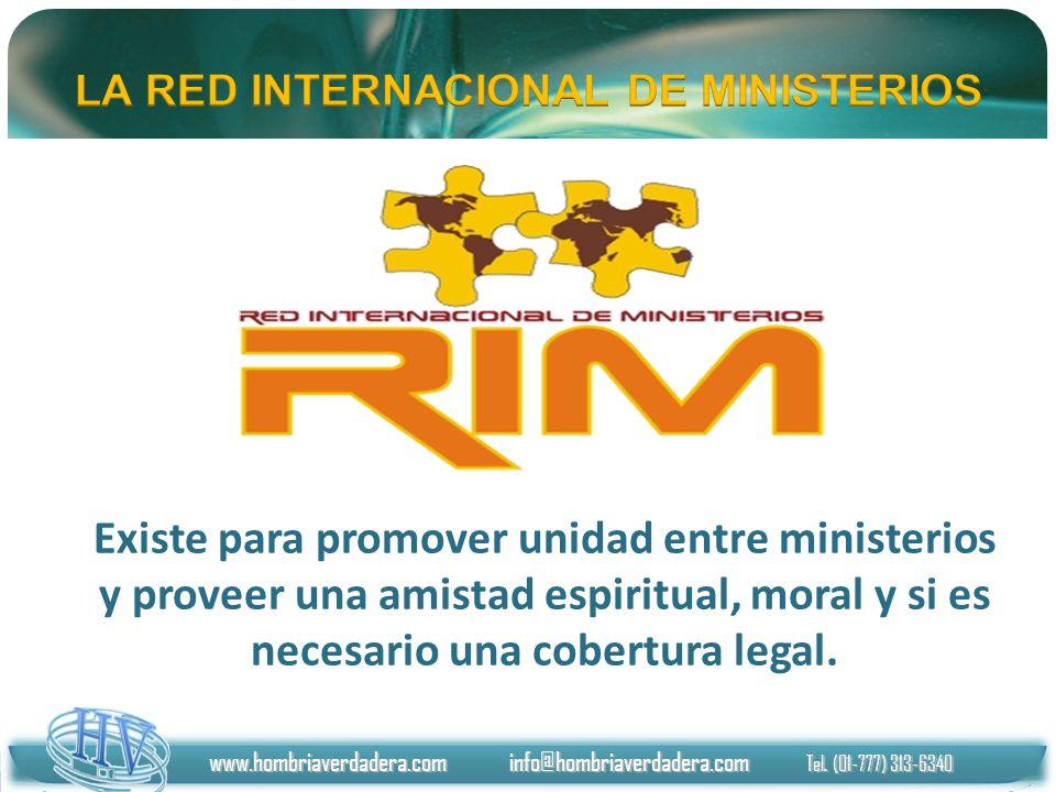 Existe para promover unidad entre ministerios y proveer una amistad espiritual, moral y si es necesario una cobertura legal. www.hombriaverdadera.com
