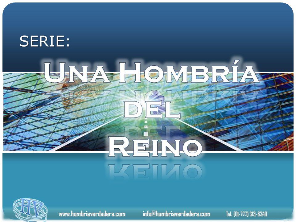 www.hombriaverdadera.com info@hombriaverdadera.com Tel. (01-777) 313-6340 SERIE: