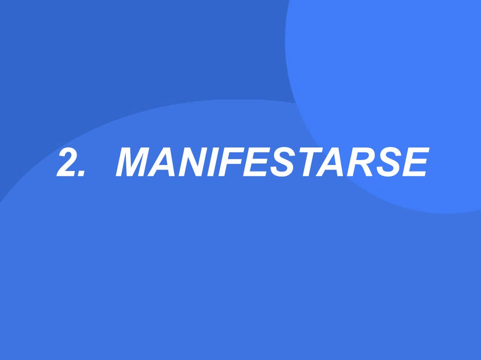 2.MANIFESTARSE