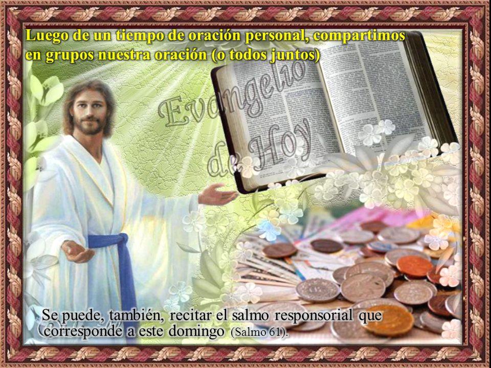 III. ORATIO ¿Qué le digo al Señor motivado por su Palabra? El Padre celestial sabe lo que necesitamos incluso antes de que se lo hayamos pedido. Pero,