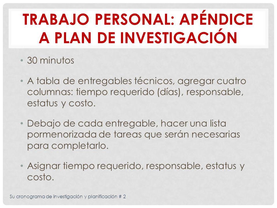 Su cronograma de investigación y planificación # 2 Articular las decisiones clave que tendrá que tomar durante la fase de planificación de la campaña Pride.