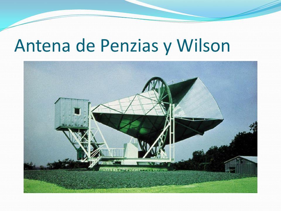 Antena de Penzias y Wilson