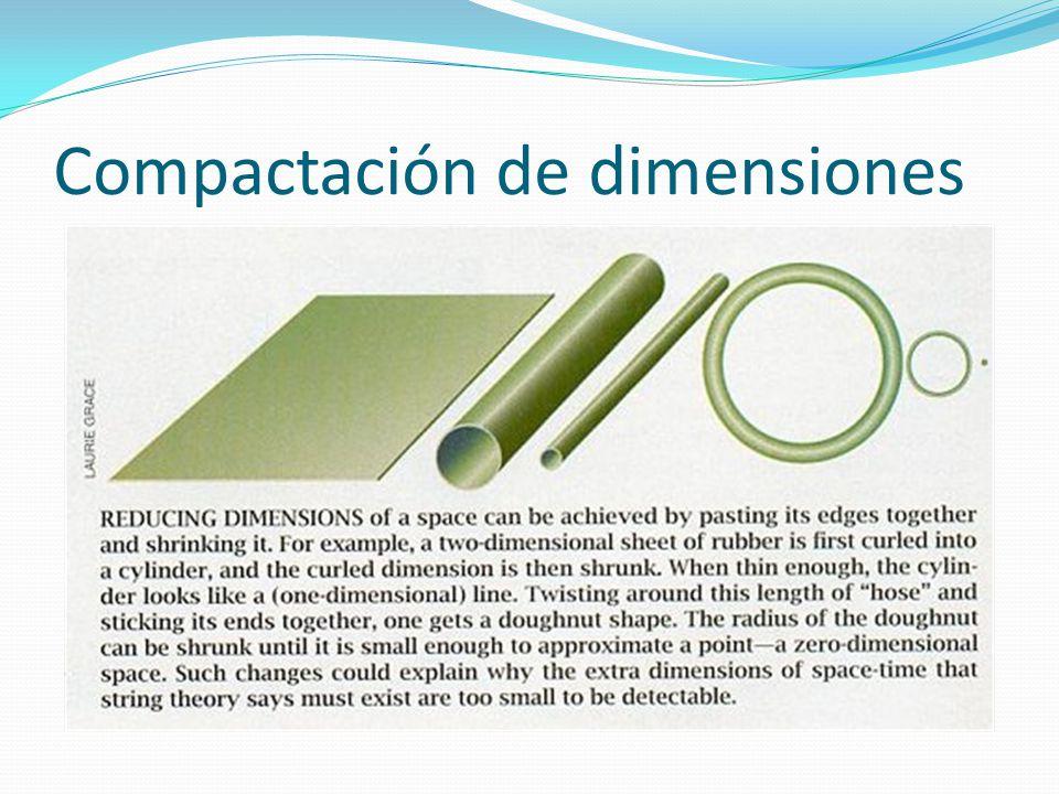 Compactación de dimensiones