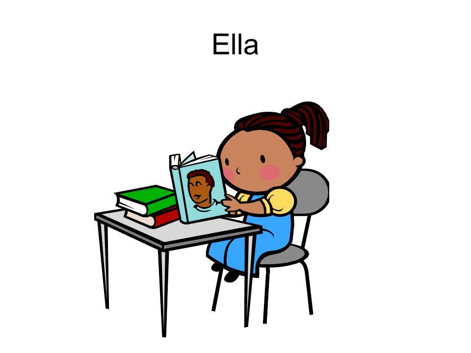 Ella estudia