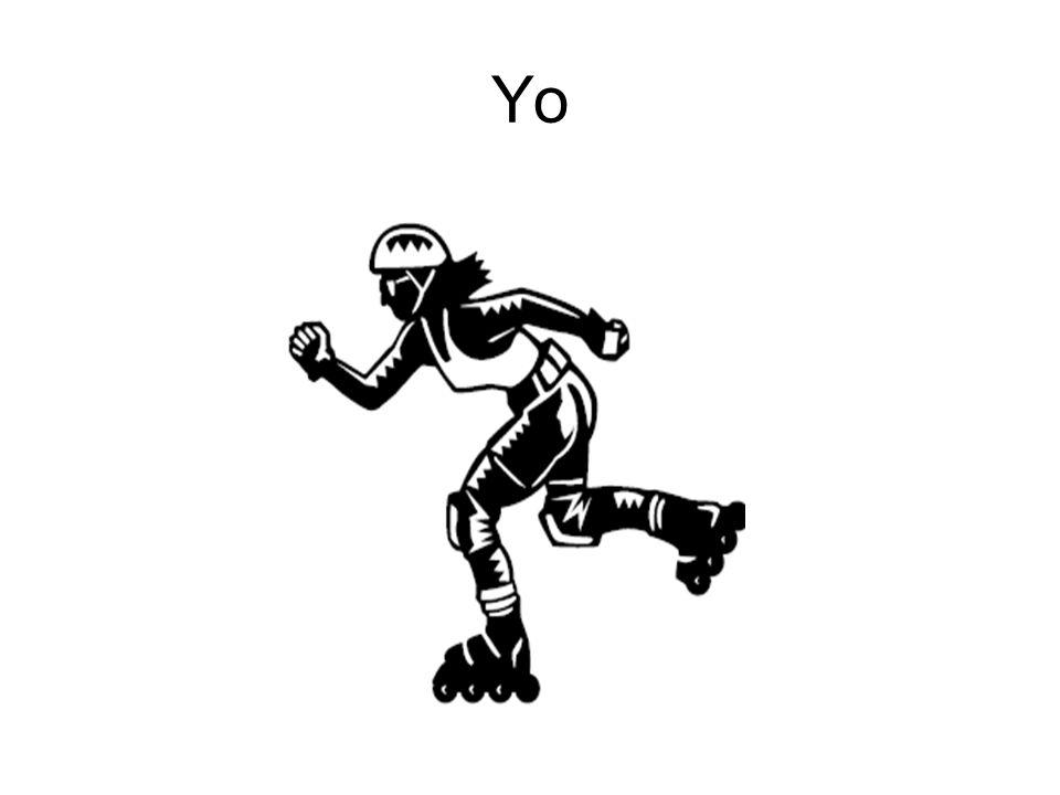 Yo patino.