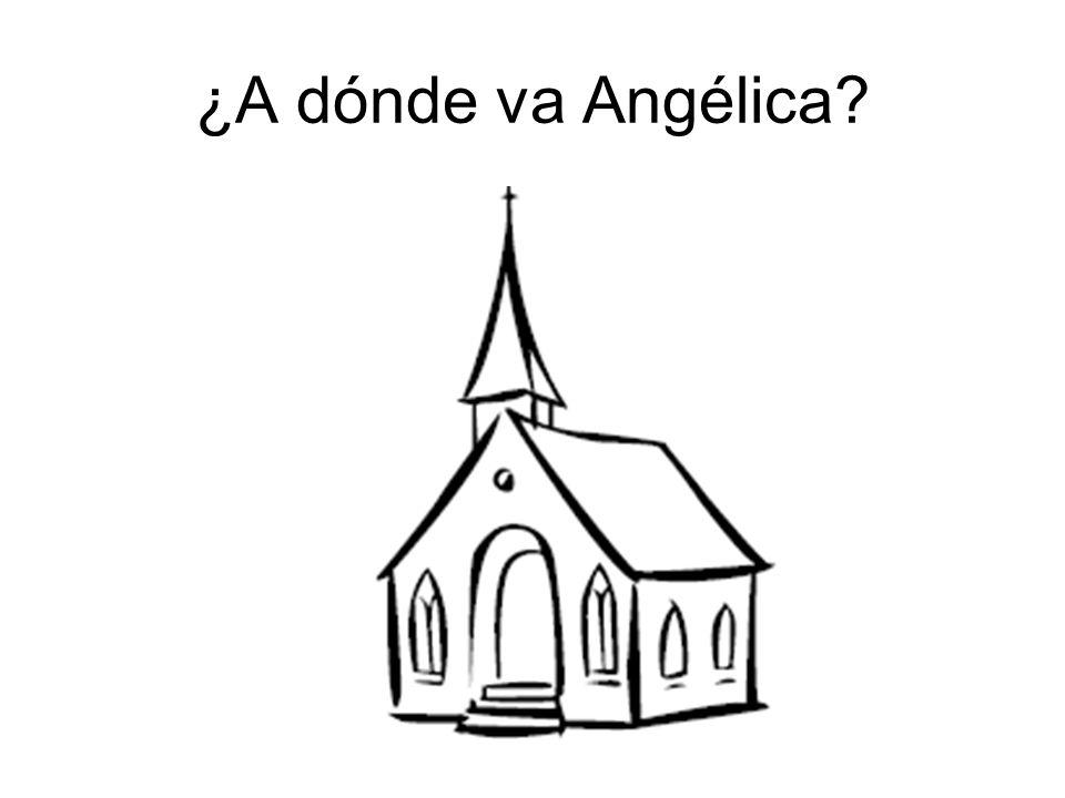 ¿A dónde va Angélica